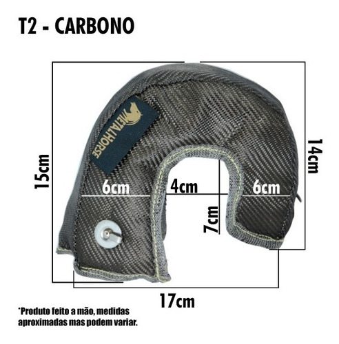 protetor capa manta de turbina carbono mhtb t2 carbon