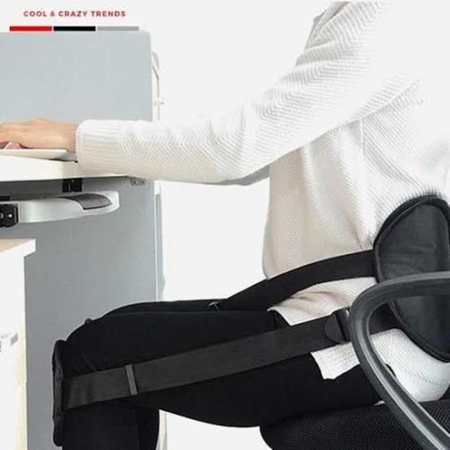 protetor coluna sentado corretor postura cadeira escritorio