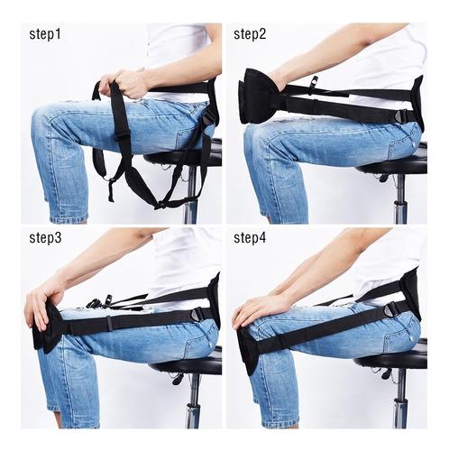 protetor coluna sentado protecao ajustave cadeira escritorio