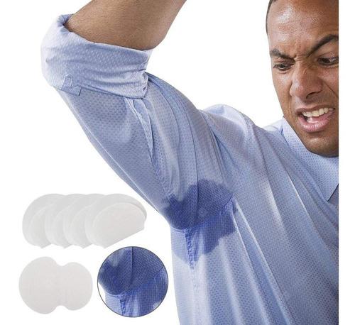protetor contra suor descartável axilas 5 pares branco