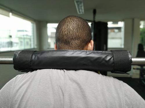 protetor de barra  agachamento academia o mais barato oferta