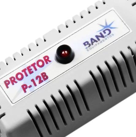 protetor de bateria contra pico de tensão - 12 v band p12b