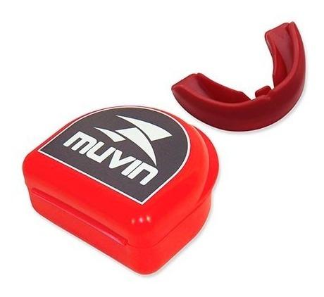 protetor de boca profissional muvin com estojo.