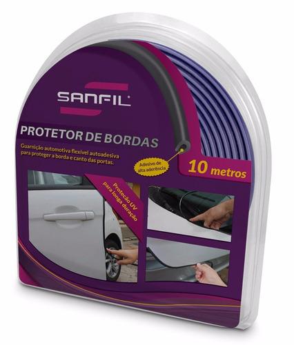 protetor de borda porta para carros 10 metros sonic - todas