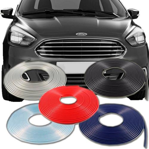 protetor de borda porta para carros 10 mtrs ford ka - todos