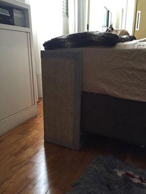 protetor de cama e arranhador de gato promoçao para o par