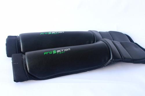 protetor de canela tornozelo master proaction