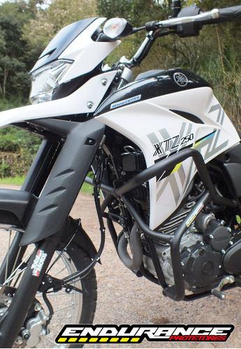 protetor de carenagens motor xtz250 lander nova - endurance