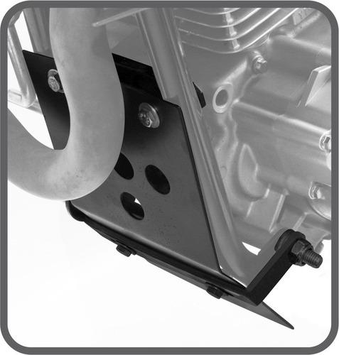 protetor de cárter de motor yamaha ténéré 250cc xtz scam