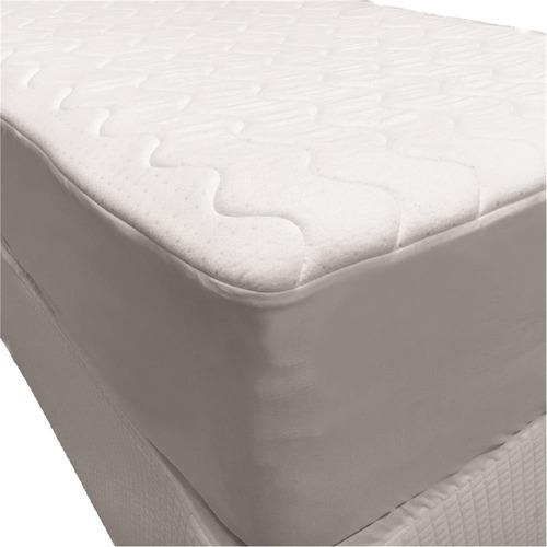 protetor de colchão casal fibrasca impermeável 90 x 190 cm
