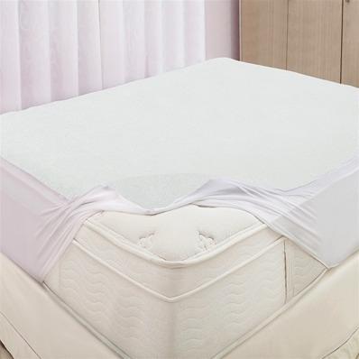 protetor de colchão impermeável felpudo queen 2,00m x 1,60m