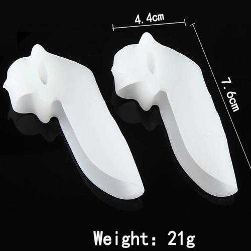 protetor de joanetes separador de dedos unha silicone macio