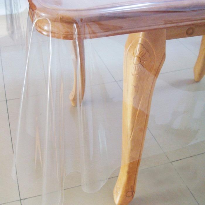 Protetor de mesa 140x210cm toalha pl stica transparente - Mesas para ninos de plastico ...