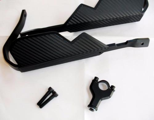 protetor de mão em alumínio / carbono yamaha ténéré xtz 250