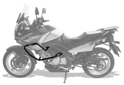protetor de motor / carenagem suzuki vstrom 650cc scam