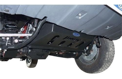 protetor de motor dianteiro peito de aço jimny 2015