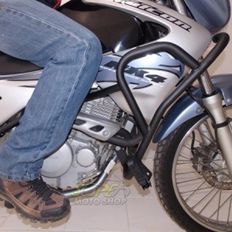 protetor de motor e carenagem chapam falcon nx 400 até 2008