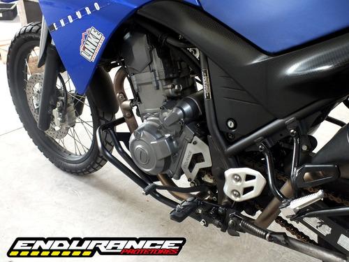 protetor de motor / escapamento xt660r - endurance protetores