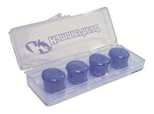 protetor de ouvido tampão para dormir 100% silicone 02 par