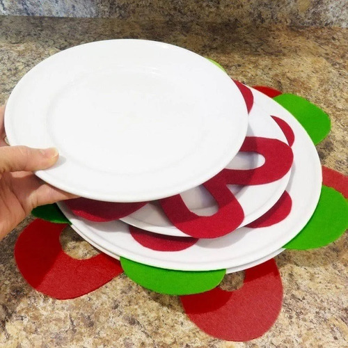 protetor de panelas e pratos conjunto 3 peças - prana