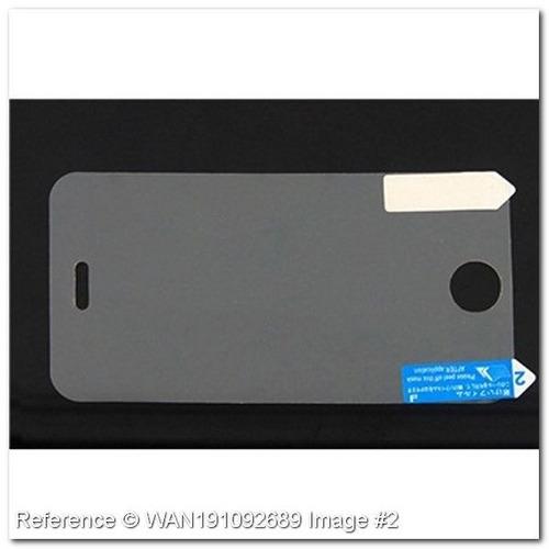 protetor de pantalla para iphone 3 g y 3gs