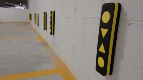 protetor de para-choque para parede - estacionamento