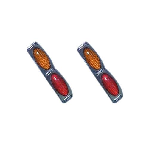 protetor de porta para carro com refletor (olho de gato)