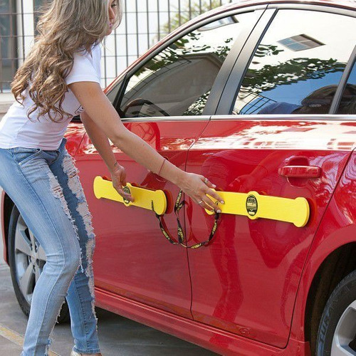 protetor de porta para carros shields - longo kit c/ 4 prot