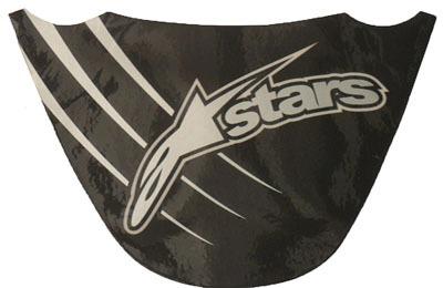 protetor de rabeta siliconado 2000 stars -