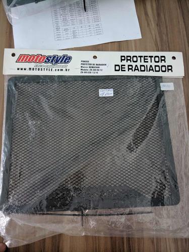 protetor de radiador  kawasaki zx-6r ; zx-6r 636