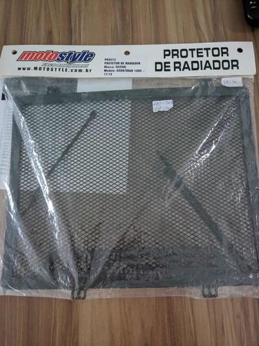 protetor de radiador suzuki gsx-r 1000 srad (2017- 2019)