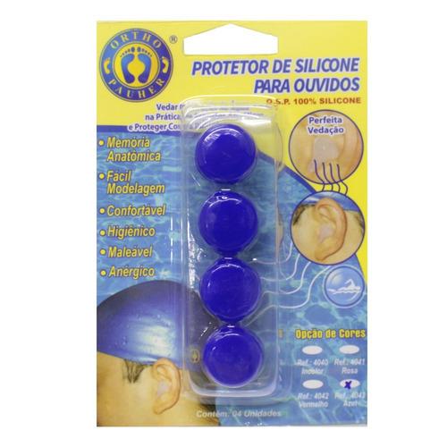 protetor de silicone para ouvidos 100% silicone