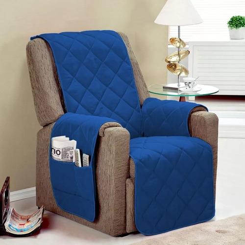 protetor de sofá/poltrona fatima 1 lugar oferta limitada