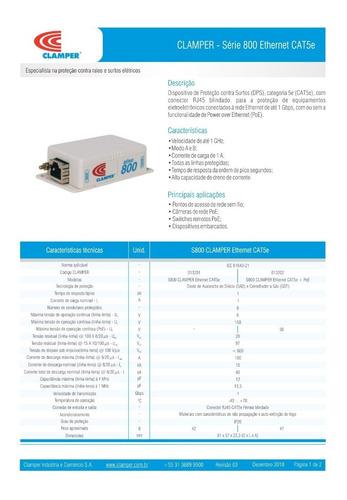 protetor de surto dps raios rede ethernet rj45 10/100/1000