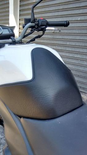 protetor de tanque couro dafra next 250 300 com nota 022431