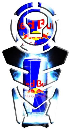 protetor de tanque nova twister/titan/bros 160 red bull 19