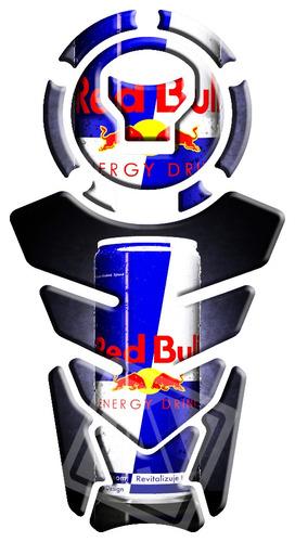 protetor de tanque nova twister/titan/bros 160 red bull 20