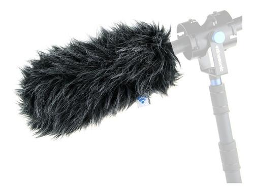 protetor de vento kinosonic deluxe p/ microfone direcional