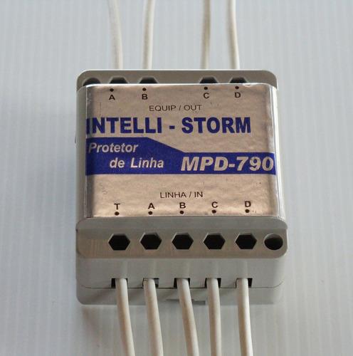 protetor elétrico contra raios para dados e automação.