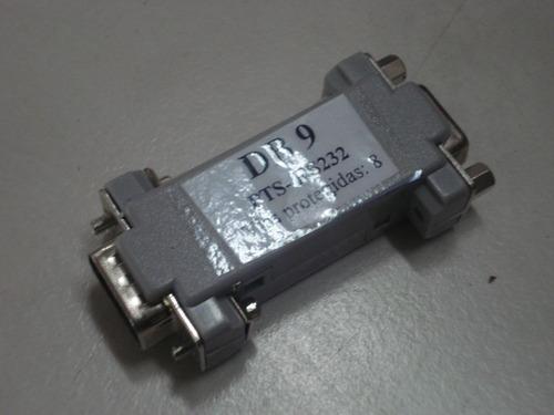 protetor elétrico serial tipo pts rs 232 db 9