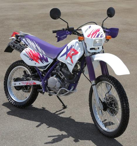 protetor escapamento xlr125 xr200 serjão moto peças