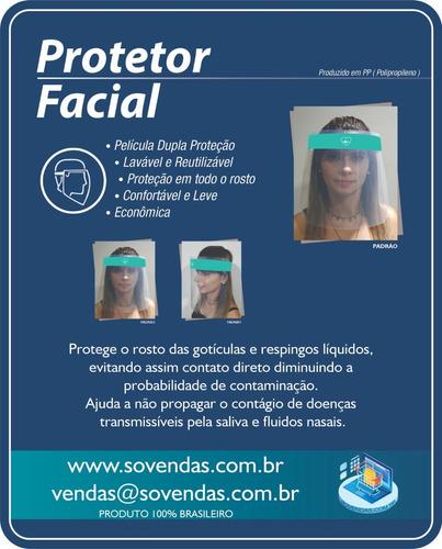 protetor facial - face shield