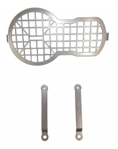 protetor farol grade r 1200 gs premium bmw 2014/ prata 872