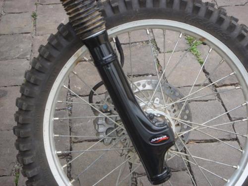 protetor garfo bengala honda tornado xr 250 trilha motocross