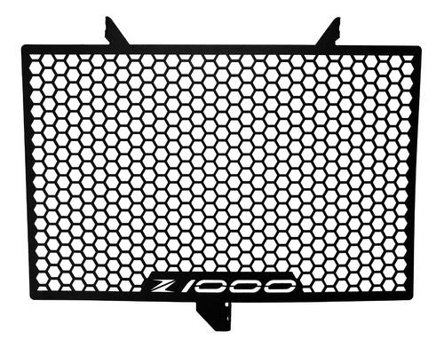 protetor grade radiador kawasaki z1000 z 1000 aço