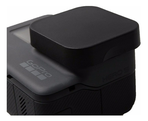 protetor lente tampa proteção gopro go pro hero 5 6 7 black
