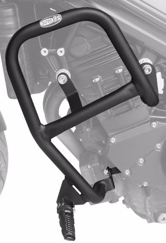protetor motor carenagem bmw f800 r com pedaleira scam f800r