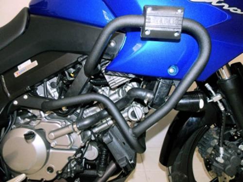 protetor motor carenagem c pedaleira dl 650 v strom 9422