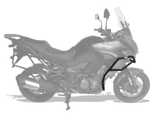 protetor motor carenagem pedaleira kawasaki versys 1000 15+