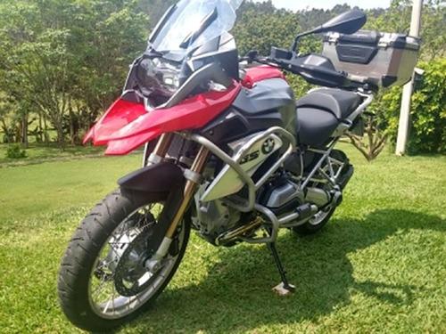 protetor motor carenagem r 1200 gs sport prata chapam 9642